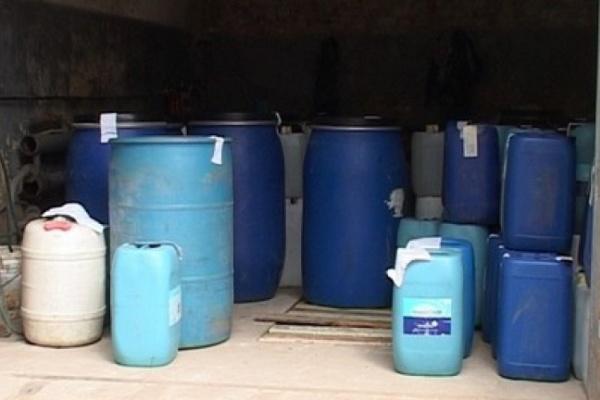146 тонн контрафактного спирта изъяли воронежские полицейские