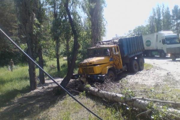Из-за ДТП возле института МВД оказалась блокирован Курский выезд