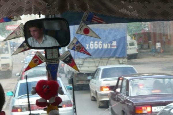 Средняя скорость транспорта в Воронеже составляет 20 км/ч
