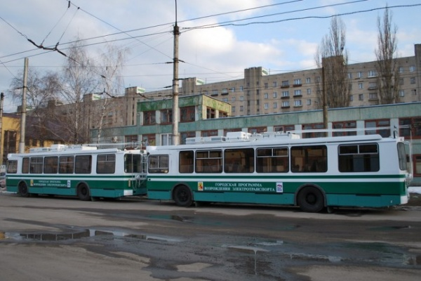 Центр Воронежа закрывается для троллейбусов