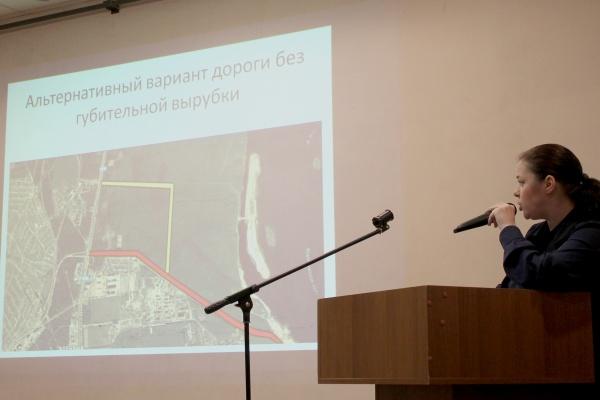 Власти Воронежа пока обойдутся без дороги в Нагорной дубраве