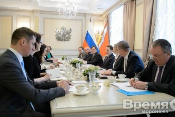 Представители иностранных посольств заинтересовались воронежским сельским хозяйством