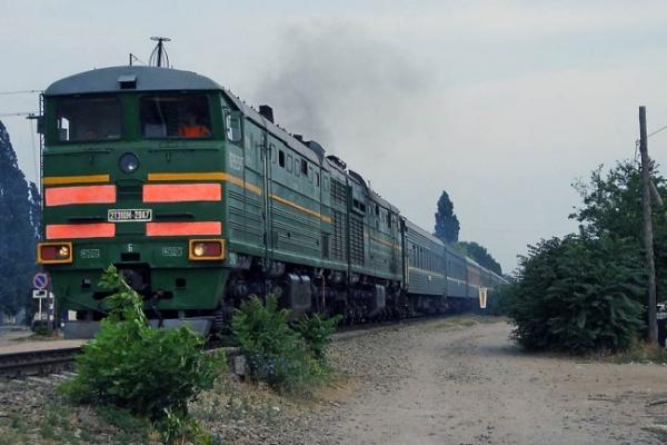 Под Воронежем поезд сбил незадачливого экстремала