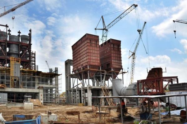 В Воронежской области завершается строительство одного из самых крупных цементных заводов в стране