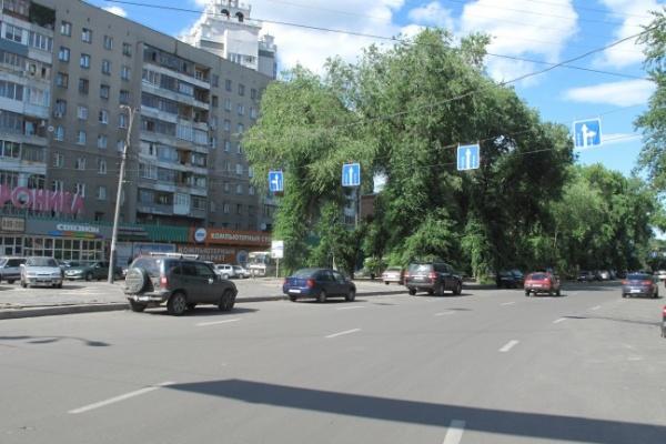 Ради воронежских автомобилистов укоротят бульвар на Кольцовской