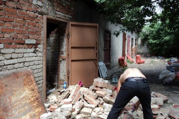 В Воронеже у Центрального рынка произошел взрыв