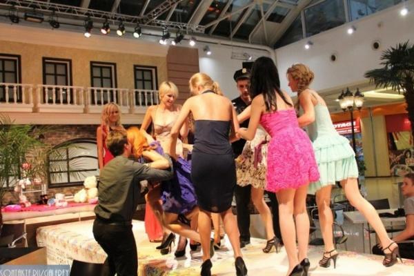 В Воронеже на модном показе подрались модели