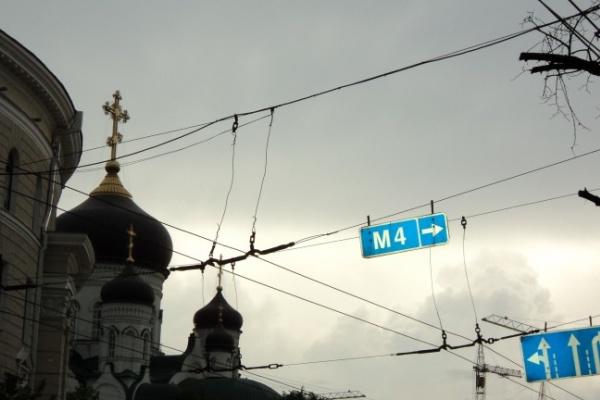 Солнце отвернулось от Воронежской области