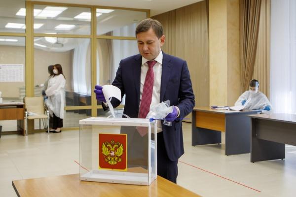 Спикер Воронежской облдумы проголосовал по поправкам в Конституцию