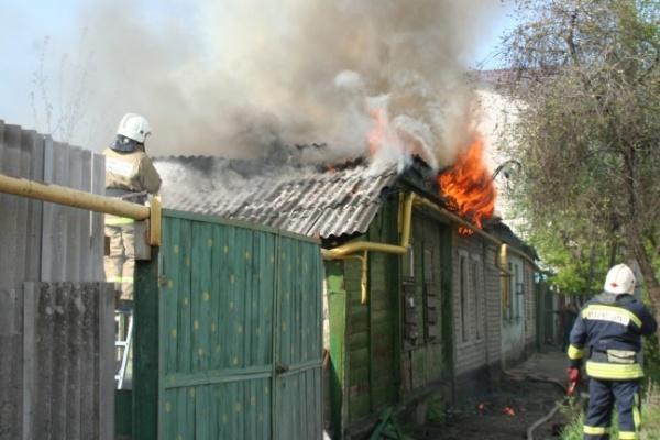 В Воронежской области за сутки произошло 11 пожаров в домах и квартирах