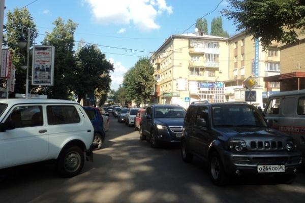 В Воронеже на выходные перекроют дорогу от К.Маркса до Плехановской