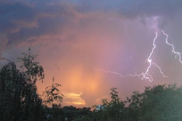 4-го августа на Воронежскую область обрушатся ливни с грозами и сильным ветром