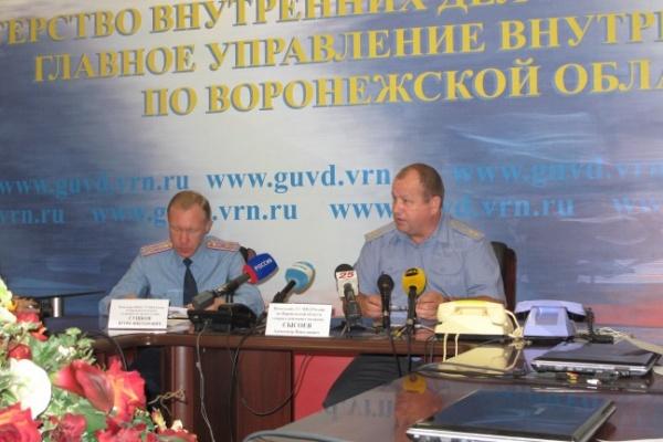 Воронежские полицейские будут ходить в старой форме еще минимум полгода