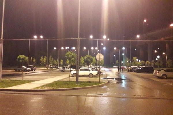 В Воронеже завершилось строительство парковок у Центрального парка
