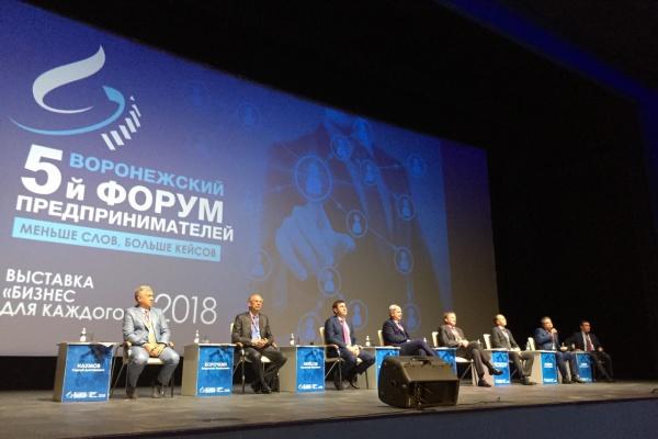 В Воронеже власти намерены создать Дом предпринимателей