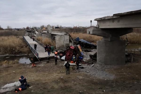 «Мостострой 1» вновь займется ремонтом рухнувшего моста под Воронежем