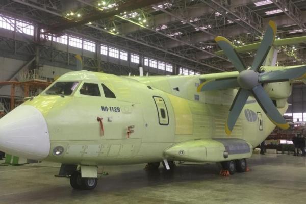 Крыло второго Ил-112В из Воронежа перевезли на испытания в Жуковский