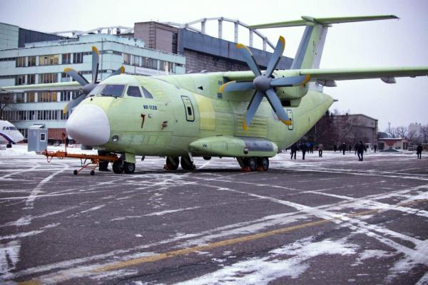 Первый воронежский Ил-112В совершил пробную рулежку