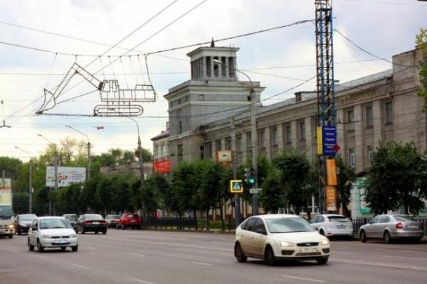 В Воронеже могут организовать реверсивное движение на Московском проспекте