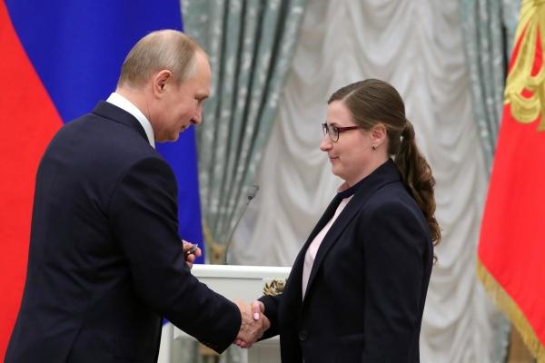 Президент лично наградил заместителя директора воронежского Дивногорья