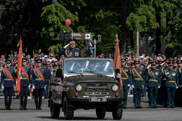 В Воронеже власти не отказались от парада Победы 24 июня