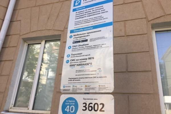 Реклама или информация: в Воронеже платным парковкам снова грозит смена табличек