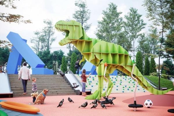 Воронежкамень выиграл тендер на допработы в парке Орленок