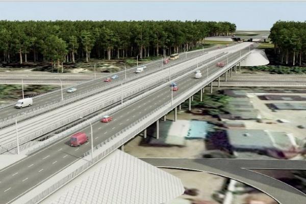 В Воронеже строительство дороги в объезд Остужевской развязки обойдется в 29,2 млн рублей