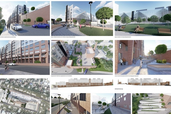 В Воронеже выбрали лучшую концепцию фасада нового корпуса онкодиспансера