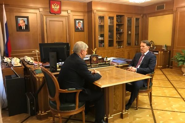 Александр Гусев и Алексей Гордеев поговорили о жизни воронежского села