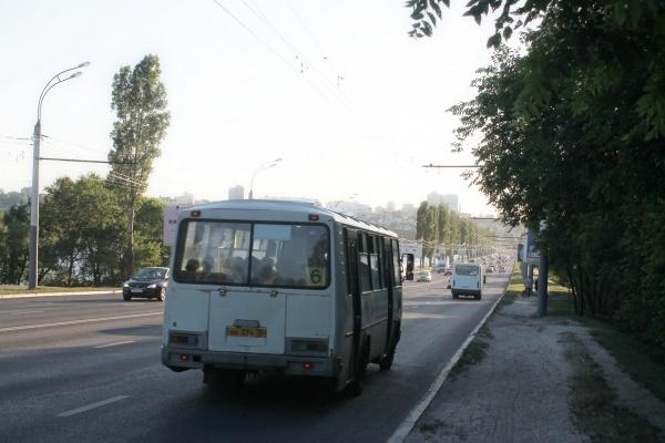 В Воронеже утвердили плавающий тариф на проезд в маршрутках