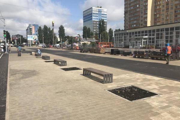 В Воронеже торговцы бывшей ярмарки на Димитрова вышли на пикет