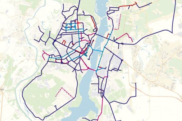 Воронежцам предложили поучаствовать в создании удобных маршрутов общественного транспорта