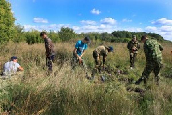 В Воронежской области поисковики обнаружили останки 24 красноармейцев
