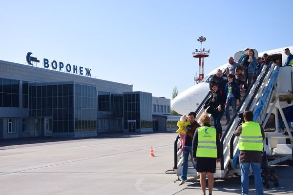 Воронежский аэропорт увеличил пассажиропоток на 13%