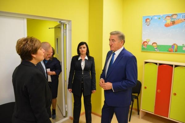 При поддержке сенатора Сергея Лукина в Воронеже открылось ДОУ, где будут развивать математические способности детей