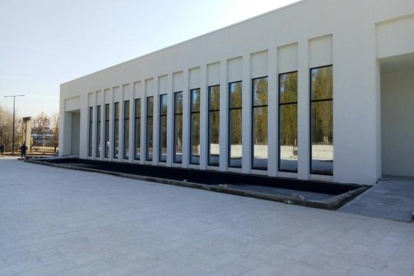 В Воронеже завершили строительство крематория на 9 Января