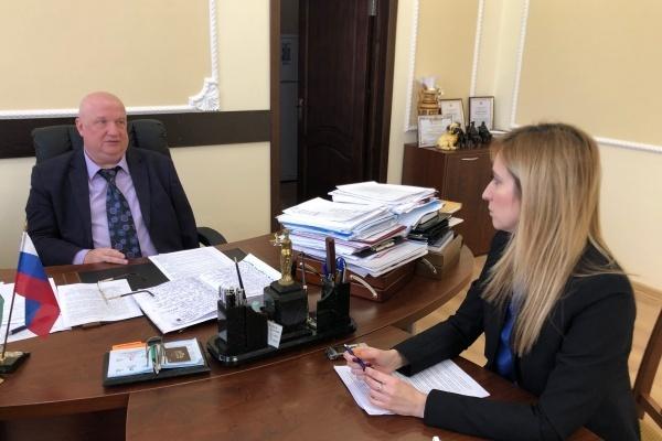 Александра Пономарева переизбрали главой райадминистрации под Воронежем