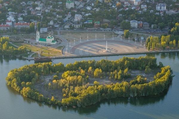 Проект Петровского острова в Воронеже пообещали разморозить к 2022 году