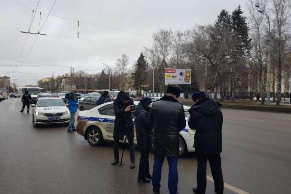 Участников «автопробега» в Воронеже привлекли к ответственности