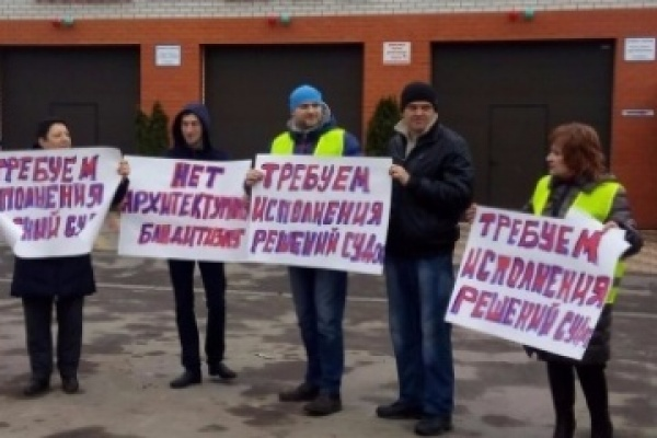 В Воронеже суд и приставы оказались бессильны против самостроя