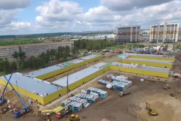 Воронежские власти отчитались о стройке коронавирусного медцентра