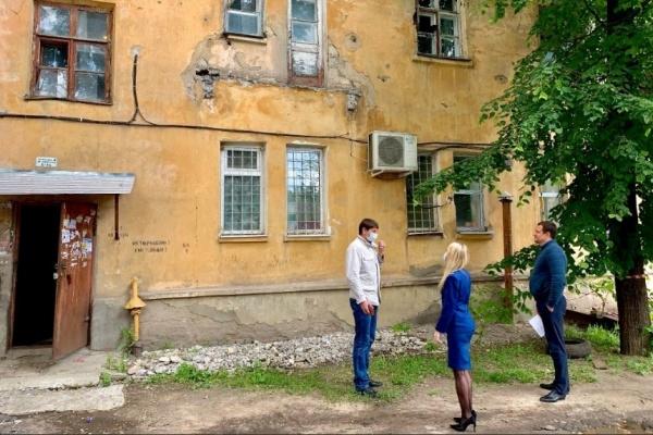 В Воронеже прокуратура признала необходимость капремонта дома на 9 Января