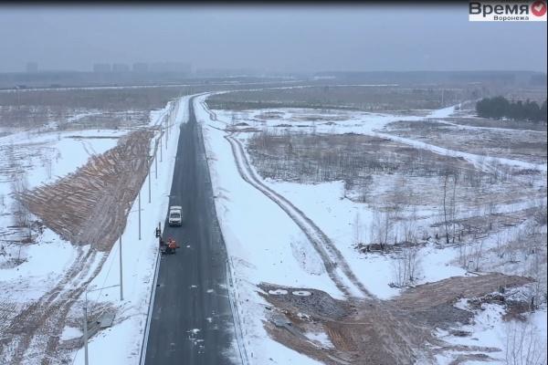 Для кого в Воронеже построили дорогу на Богатырской?