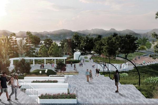 В Лисках Воронежской области спроектируют парк «Горки»
