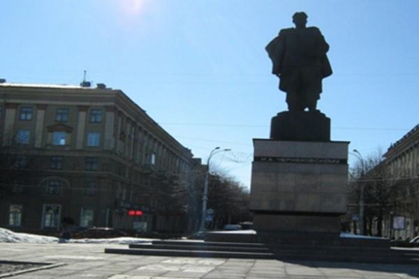 В Воронеже началось благоустройство площади Черняховского