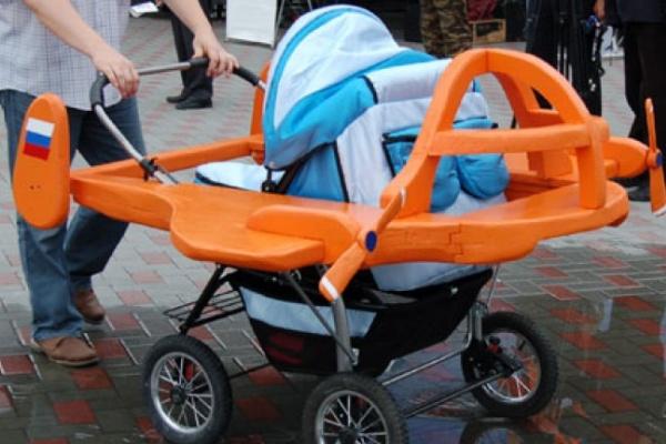 В Воронеже покажут самые необычные детские коляски