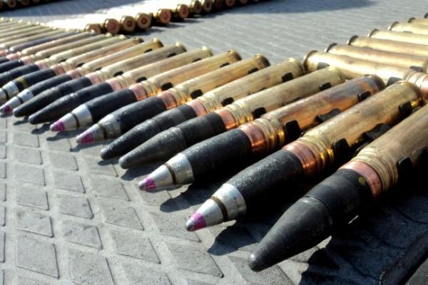 В Воронежской области у села Сторожевое  взорвали более  800 снарядов