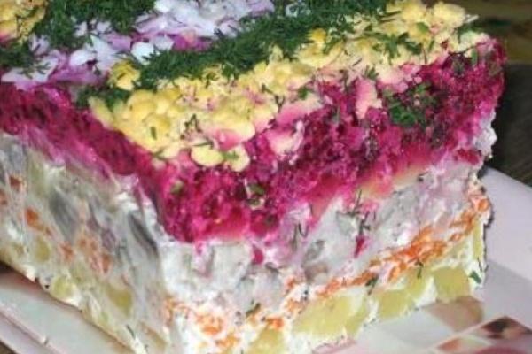 Около 50 воронежцев отравились «селедкой под шубой» из готовых обедов