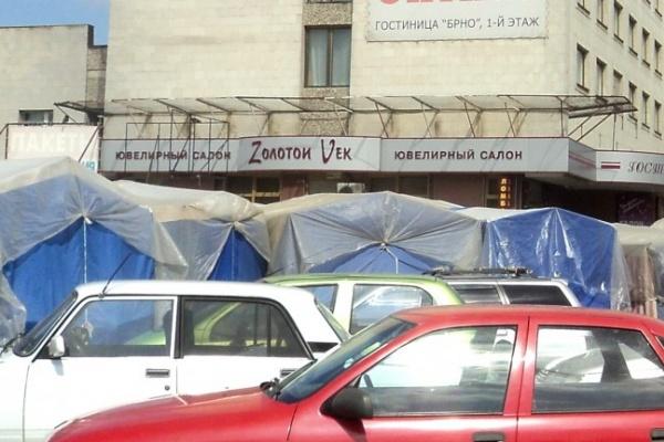 В Воронеже во время праздников с Центрального рынка уберут палатки